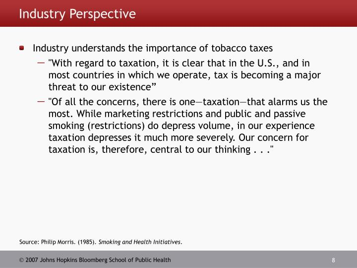 Industry Perspective
