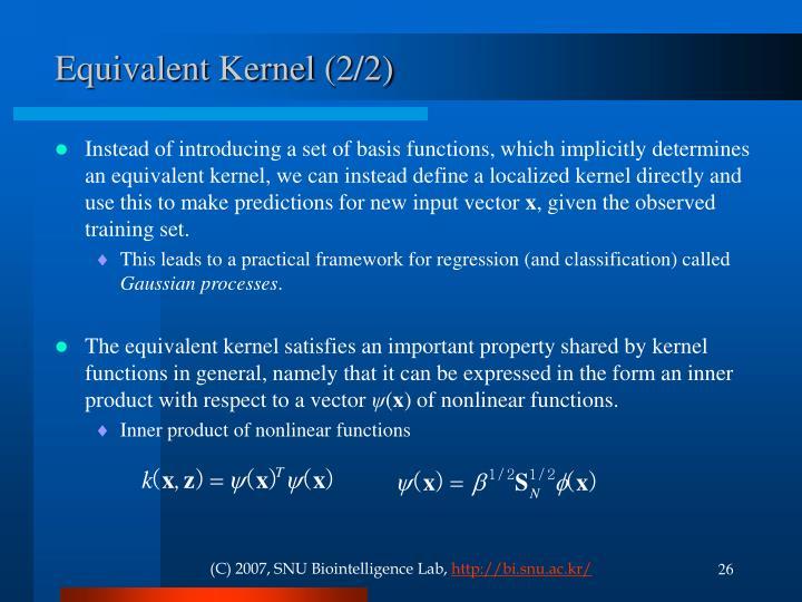 Equivalent Kernel (2/2)