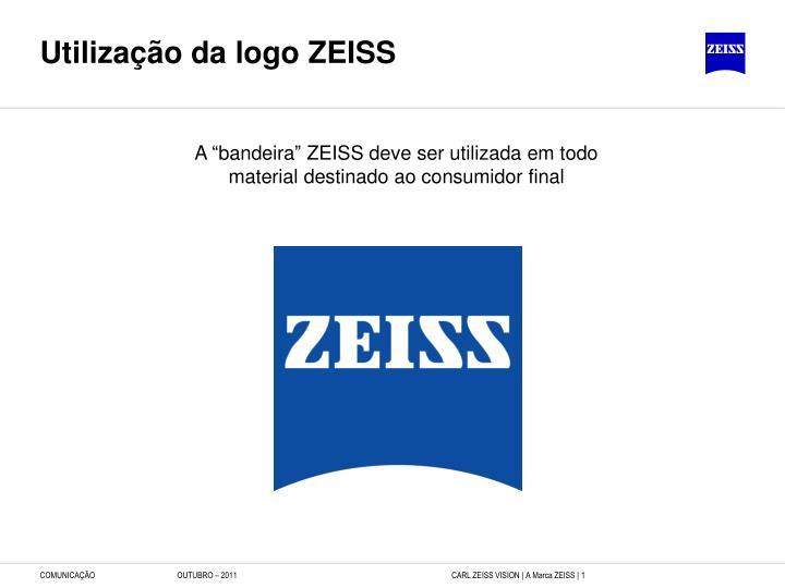 Utilização da logo ZEISS