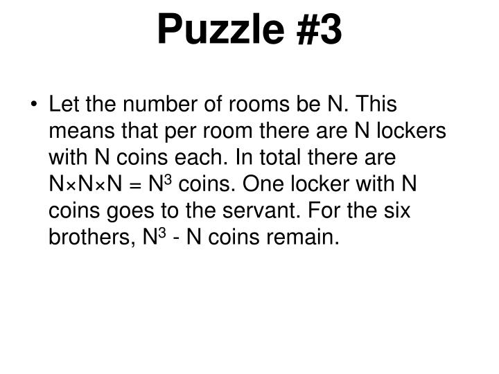 Puzzle #3