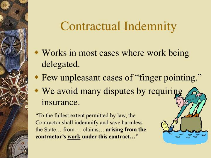 Contractual Indemnity