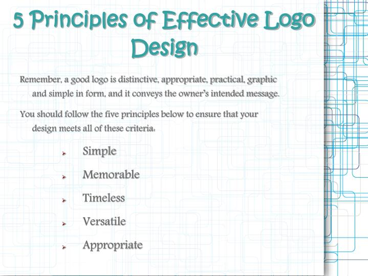 5 Principles of Effective Logo Design