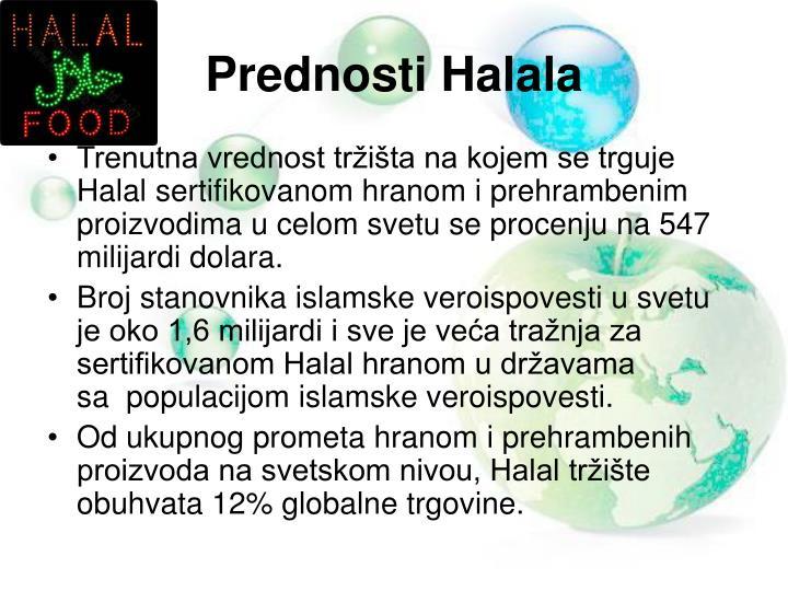 Prednosti Halala