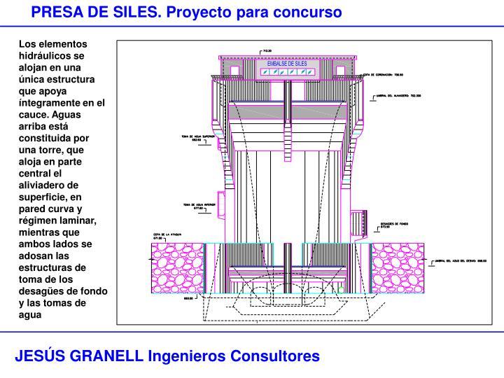 PRESA DE SILES. Proyecto para concurso