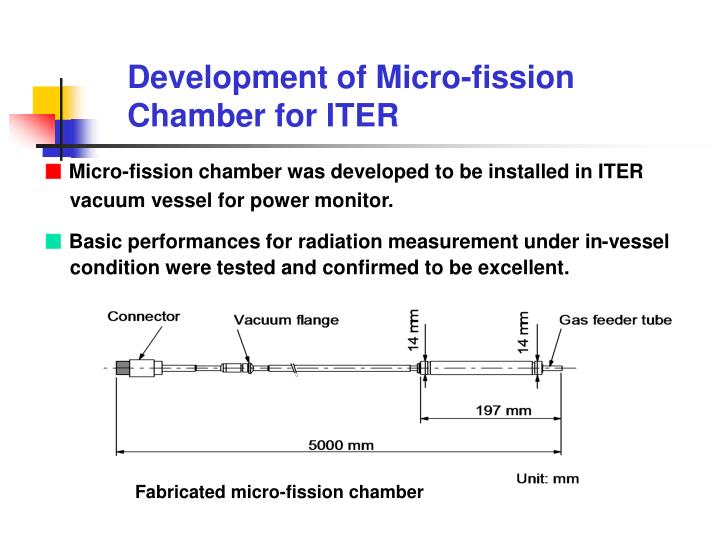 Fabricated micro-fission chamber