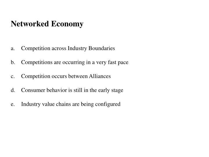 Networked Economy
