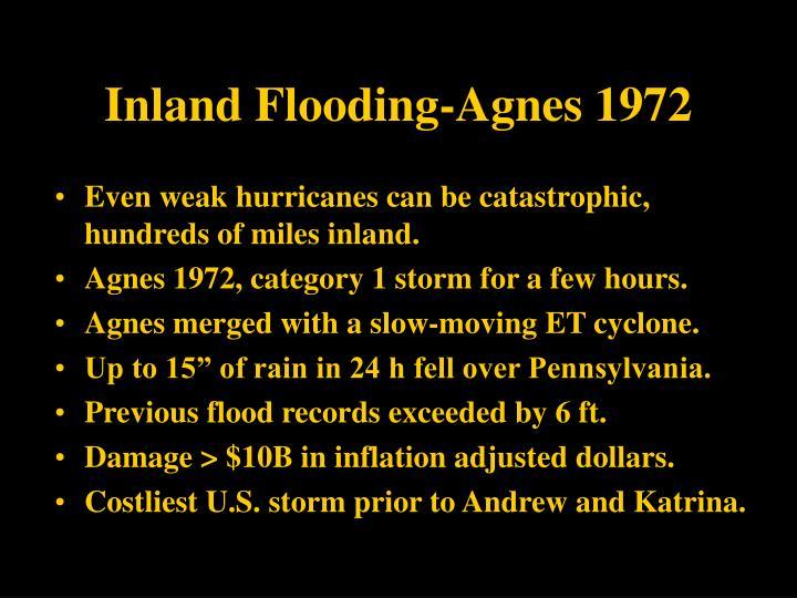 Inland Flooding-Agnes 1972