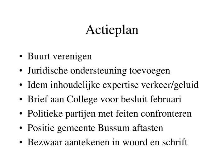 Actieplan