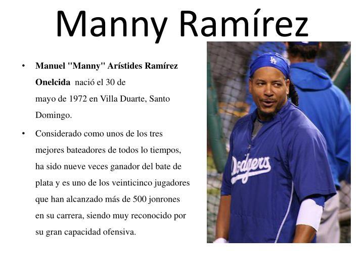 Manny Ramírez