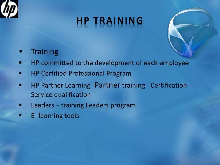 HP Training