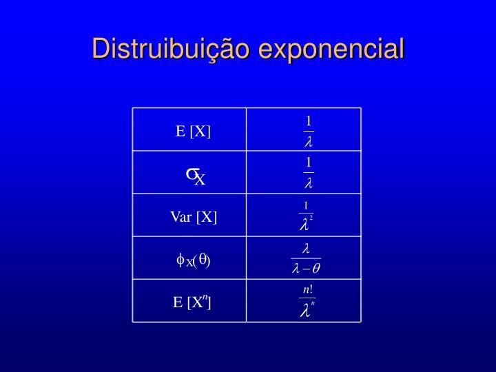 E [X]