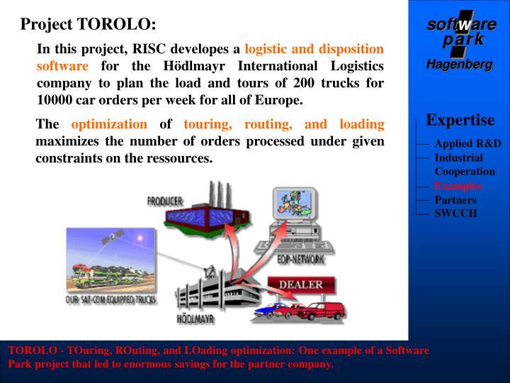 Project TOROLO: