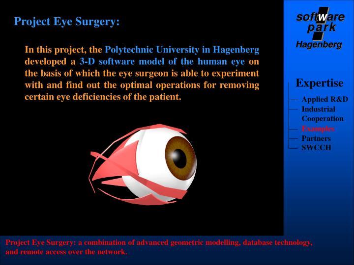 Project Eye Surgery: