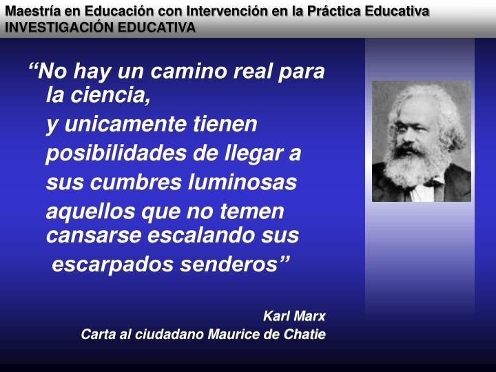 Maestría en Educación con Intervención en la Práctica Educativa