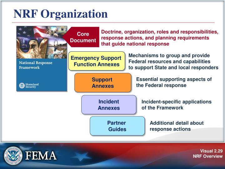 NRF Organization
