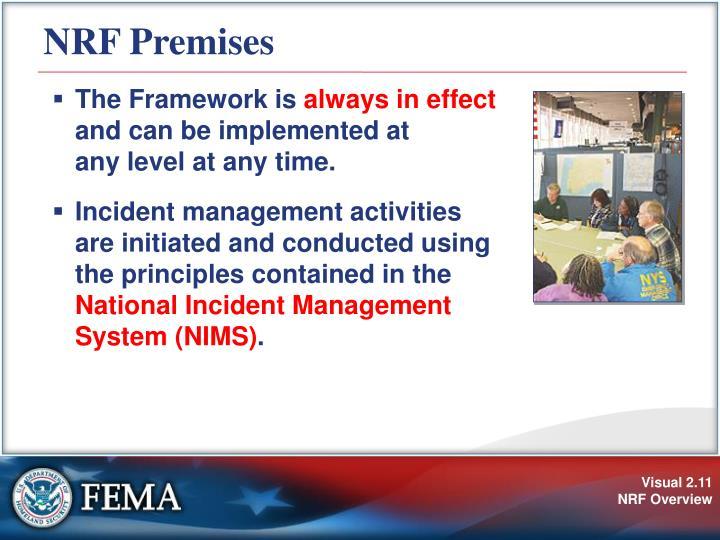 NRF Premises