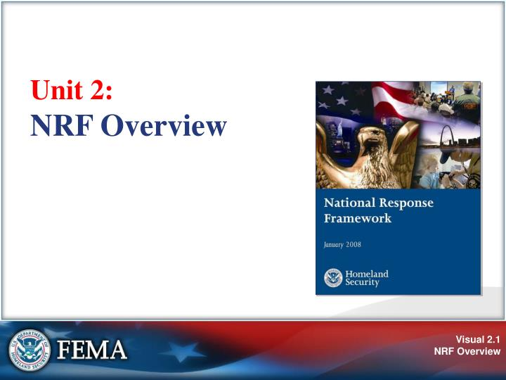 Unit 2 nrf overview