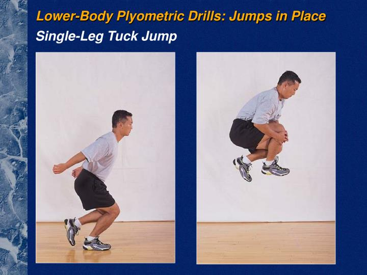 Lower-Body Plyometric Drills: Jumps in Place