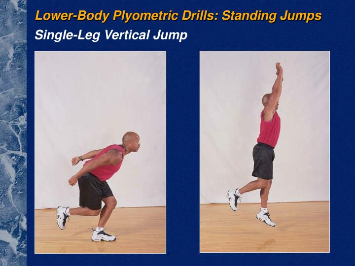 Lower-Body Plyometric Drills: Standing Jumps