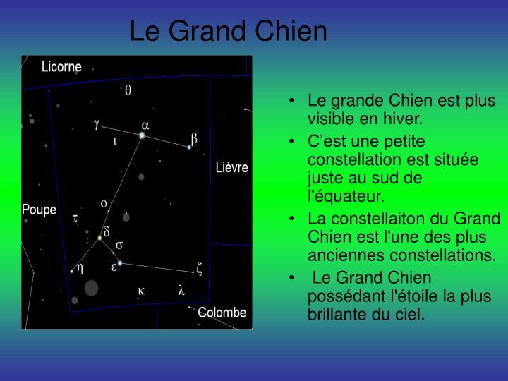 Le Grand Chien
