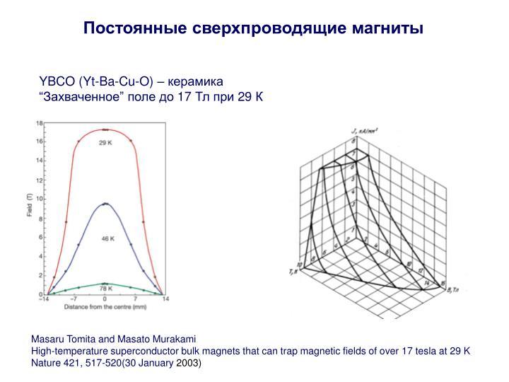 Постоянные сверхпроводящие магниты