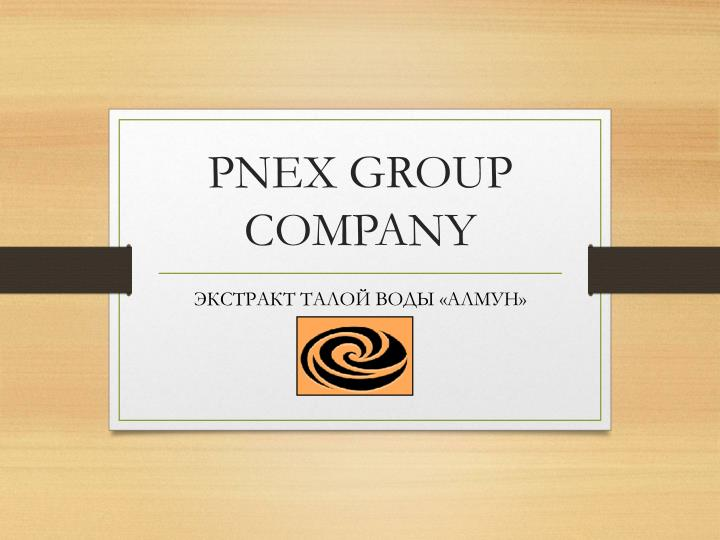 Pnex group company