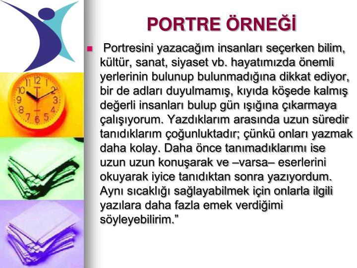PORTRE