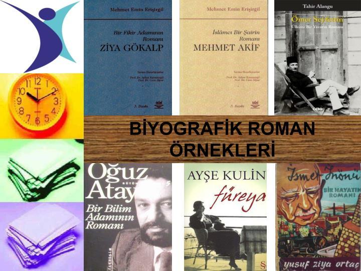 BİYOGRAFİK ROMAN