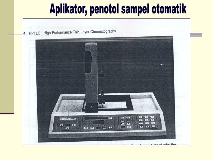 Aplikator, penotol sampel otomatik