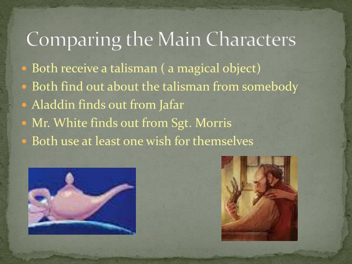 Comparing the Main Characters