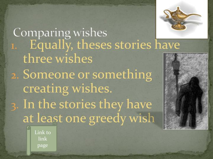 Comparing wishes
