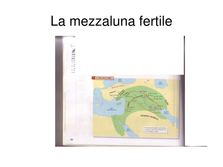 La mezzaluna fertile