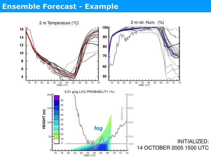 Ensemble Forecast - Example
