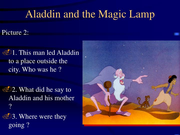 Aladdin and the magic lamp1