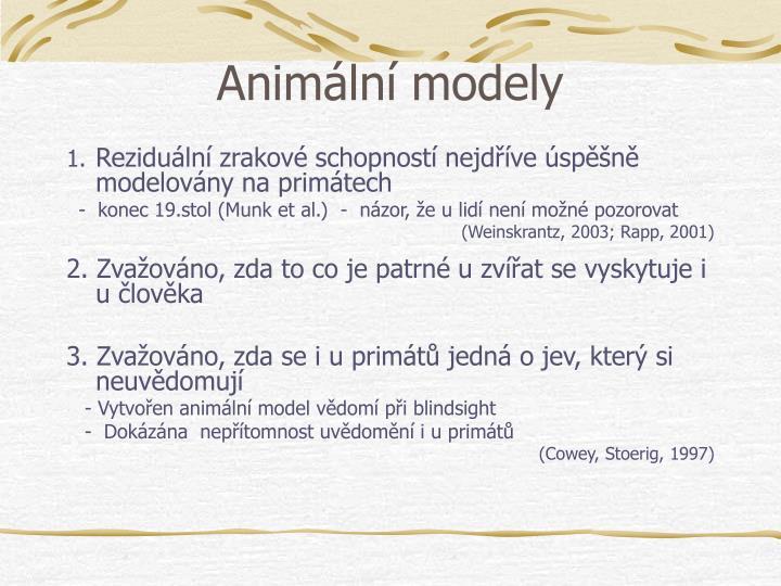 Animln modely