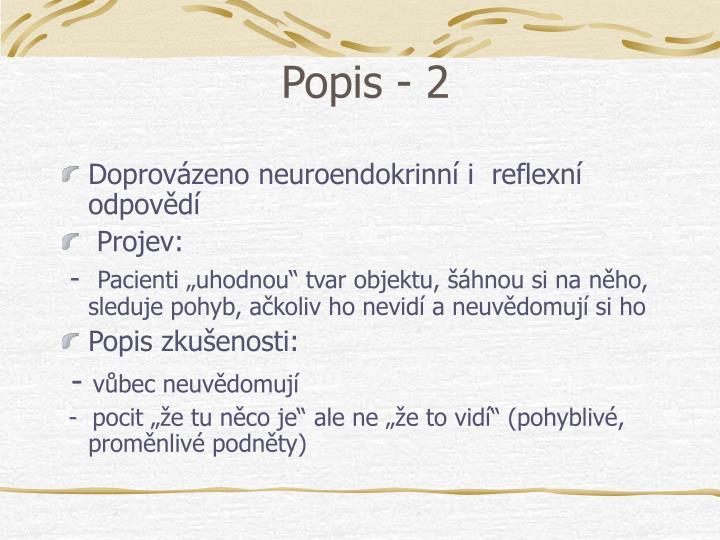 Popis - 2
