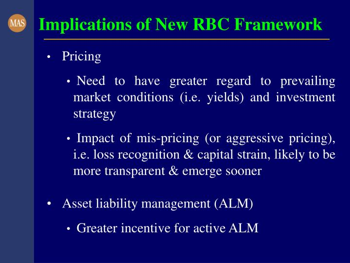 Implications of New RBC Framework