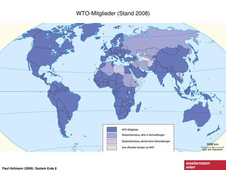 WTO-Mitglieder (Stand 2008)