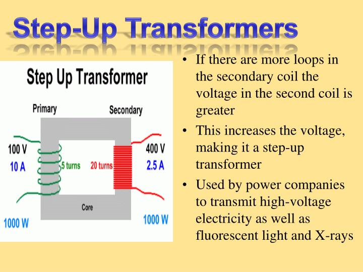 Step-Up Transformers