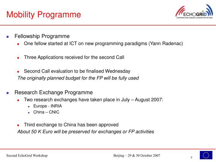 Mobility Programme