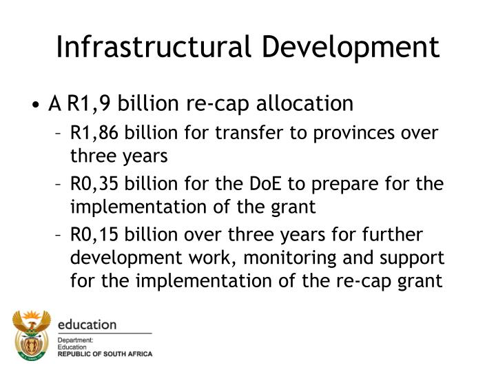 Infrastructural Development