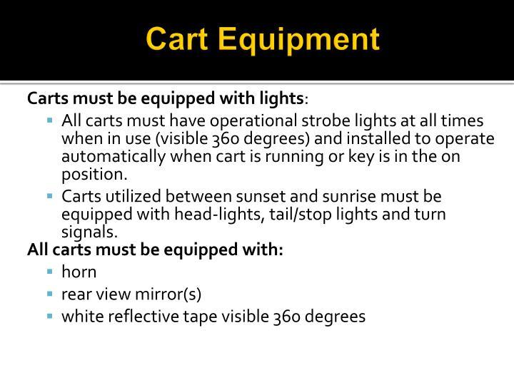 Cart Equipment