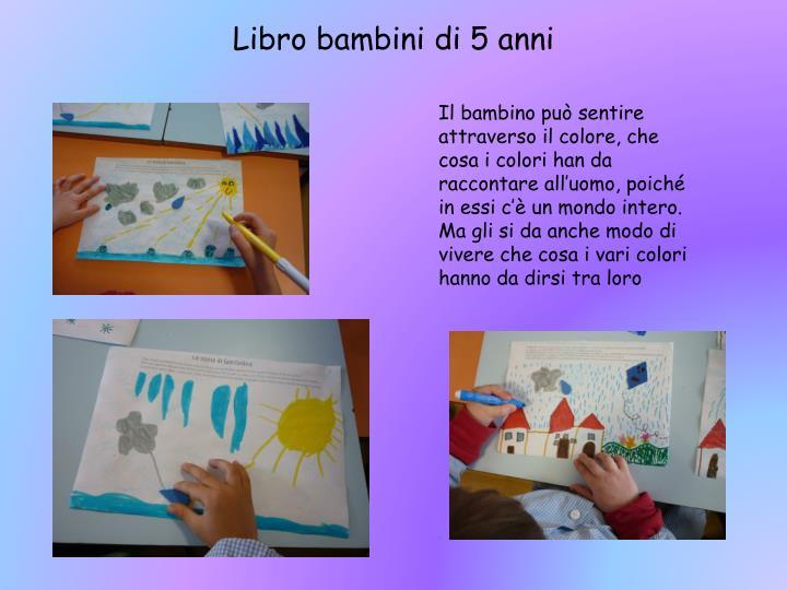 Libro bambini di 5 anni
