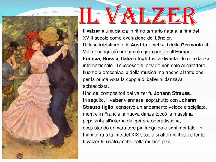 Il Valzer