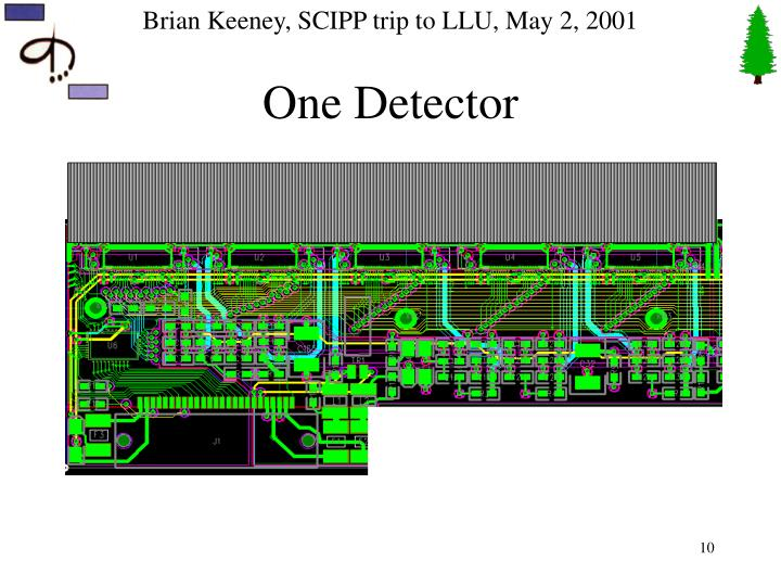 One Detector