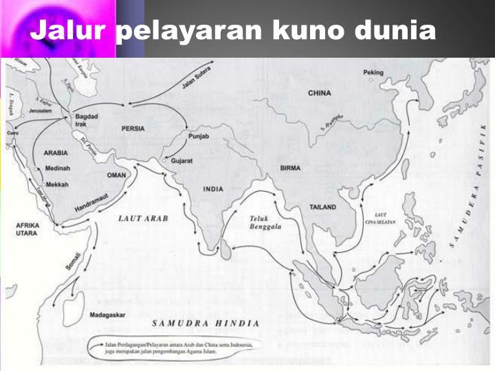 Jalur pelayaran kuno dunia