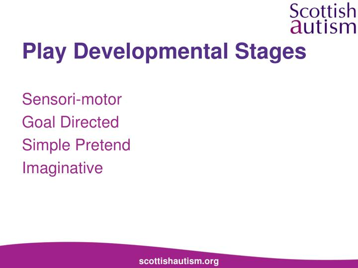 Play Developmental Stages