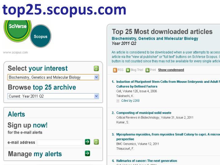 top25.scopus.com