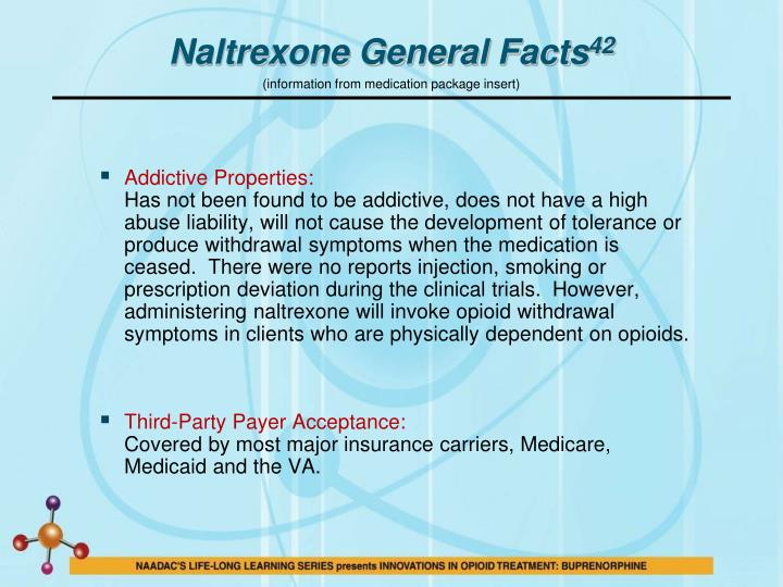 Naltrexone General Facts