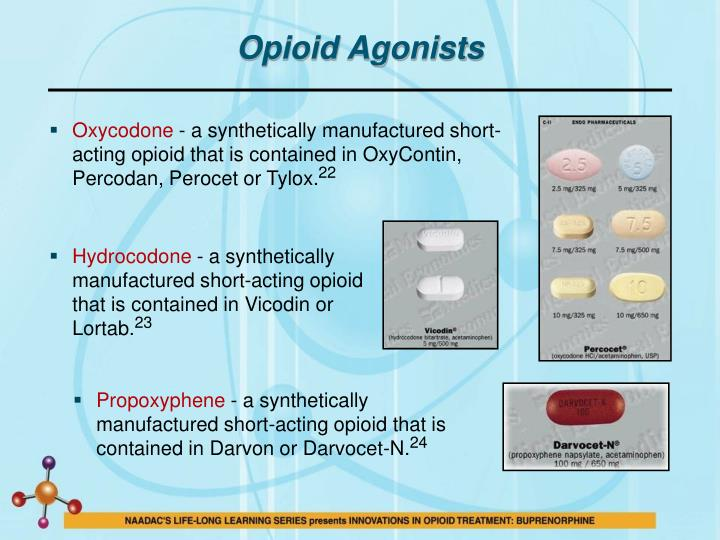 Opioid Agonists